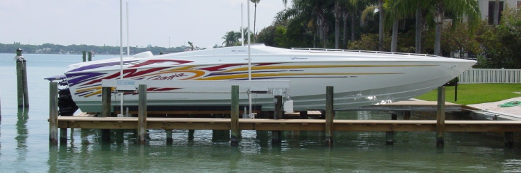 Boat Lift Construction | Tampa | Priority Marine