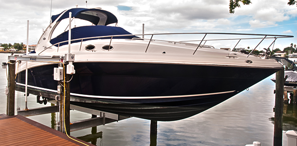 Hi-Tide Boat Lifts | St. Petersburg | Priority Marine