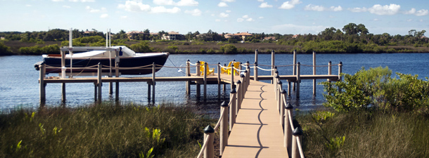 Boat Lift Construction | St. Petersburg | Priority Marine