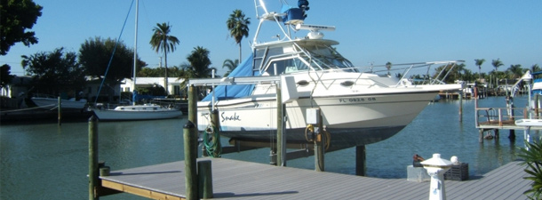 Residential Boat Lifts | St. Petersburg | Priority Marine