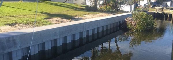 Residential Seawalls | Tampa | Priority Marine