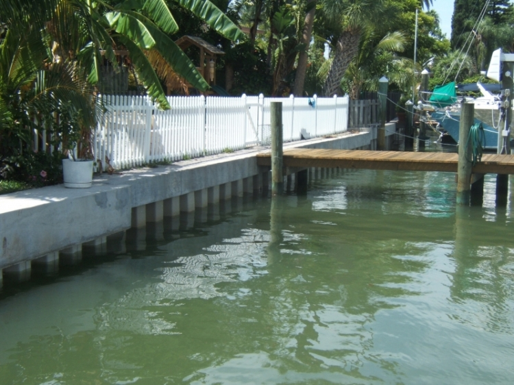 Seawall Construction | Tampa Bay | Priority Marine